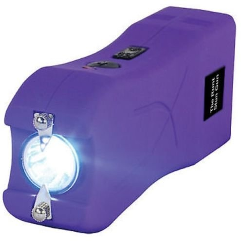 Self-Defense-Stun-Gun-20-Million-Volt-LED-Rechargeable-PURPLE-w-taser