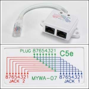 installerparts-10-100-baset-1p-2j-type-7-wiring-splitter-pigtail-type