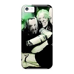 EricHowe Iphone 5c Shockproof Hard Phone Covers Support Personal Customs Realistic Apocalyptica Band Skin [gKH18019bXRh]