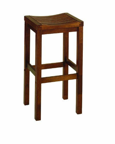 (Home Style 5645-88 Oak Finish Bar Stool, 29-Inch)