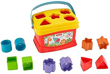 Fisher-Price - Bloques infantiles, con cubo transportable (Mattel ...