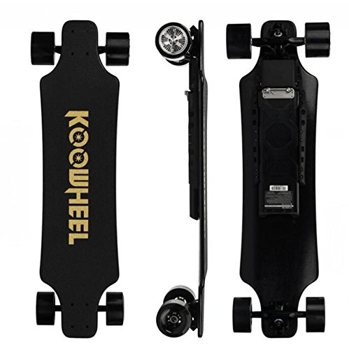 Koowheel Electric Skateboard, D3M 2nd Generation Electric Longboard with Remote - Dual Motor 2x350W 36 Inch Electric Skateboard Kooboard - 24.8 mph Speed, 286 lbs Max Load (D3M-1)
