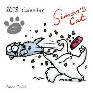 Calendario 2018 Simon s Cat – gato BD – gato Hilarant – cómico – Simon