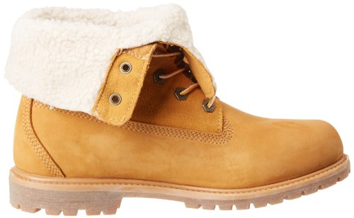 Jaune Teddy Wht femme Timberland Wp Wheat Fleece Boots Auth fnwx017q