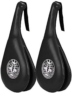 Equipo de punzonado XinXinLan Golpe para Karate duraderas Kick Boxing Artes Marciales para Raqueta de Taekwondo Juego de 2 Almohadillas para Patadas pr/áctica de Doble Patada