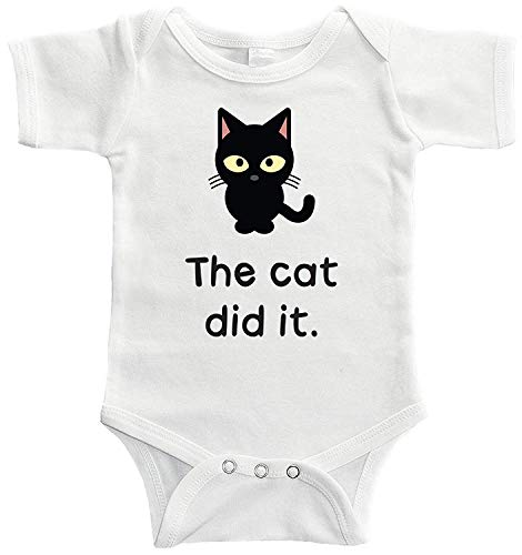 Starlight Baby The Cat Did It Bodysuit (3-6 months)