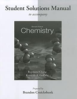 student solutions manual for chemistry 11th eleventh edition by rh amazon com Fluid Mechanics Physics Solutions Manual