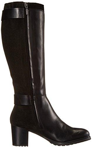 GeoxD LISE ABX C - botas de caño alto Mujer Negro - Schwarz (C9999BLACK)