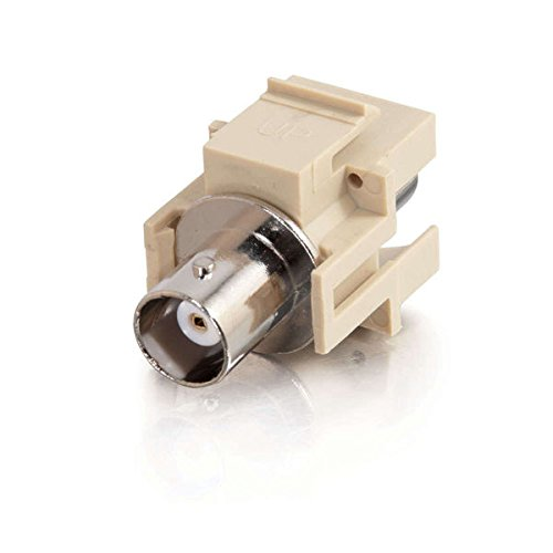 Module Keystone Bnc (C2G/Cables to Go 03811 Snap-In BNC Keystone Insert Module)