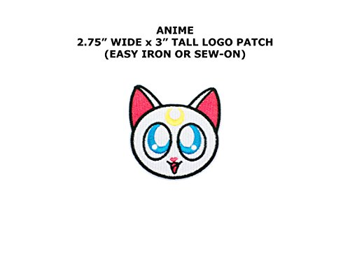 Z Mazinger Costume (Sailor Moon Luna Cat Anime Embroidered Iron/Sew-on Comic Cartoon Theme Logo Patch/Applique By)