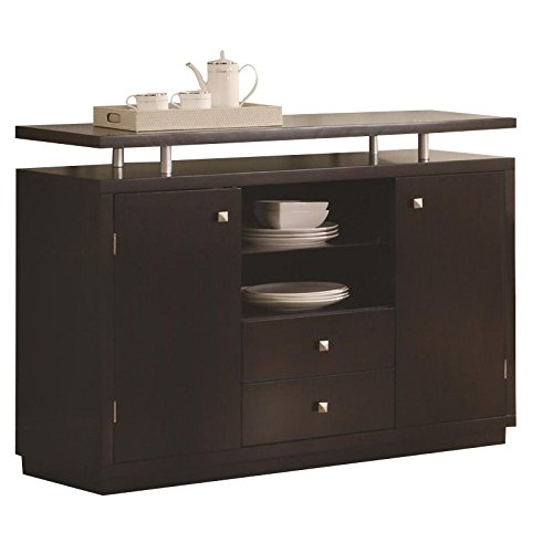 Coaster Home Furnishings Coaster 103165 Transitional Server, Cappuccino