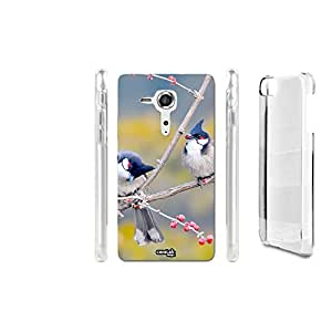FUNDA CARCASA DISCUSSIONE BIRD PARA SONY XPERIA SP C5303