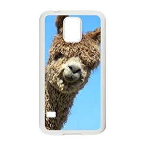 Alpaca Unique Design Cover Case with Hard Shell Protection for SamSung Galaxy S5 I9600 Case lxa#920100