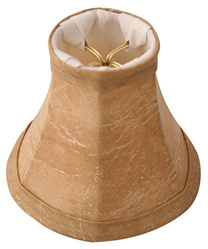 Royal Designs Mouton Modified Bell Chandelier Lamp Shade, 2.5'' x 5'' x 4.25'', Clip On by Royal Designs, Inc