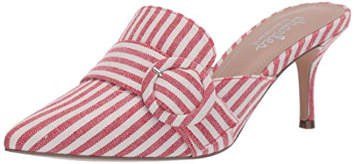 - CHARLES BY CHARLES DAVID Women's Acapulco Mule, Candy Red, 6.5 M US