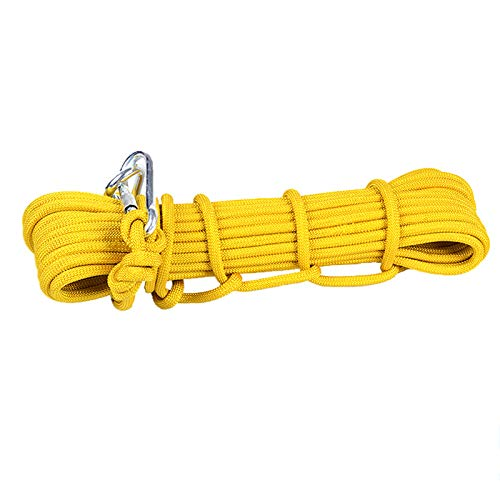 国内最安値! CATRP 鋼鉄コア安全ロープクライミングロープ高層救助ロープ緊急ロープライフライン予備ロープ登山用具ロープ上のロープクライミングロープ黄色 (サイズ CATRP さいず : (サイズ 10mm60m) B07R1M3N75 : 10mm60m, ゴセシ:7a894041 --- a0267596.xsph.ru