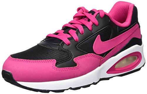 Nike Unisex-Kinder Air Max St (Gs) Laufschuhe Pink (Black/Vivid Pink-White)