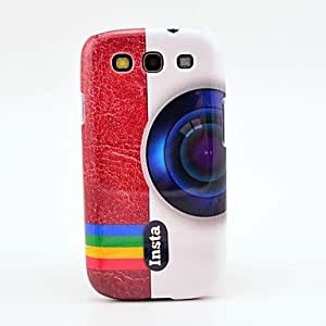 Buy Color Camera Pattern Case Cover for Galaxy 3 I9300