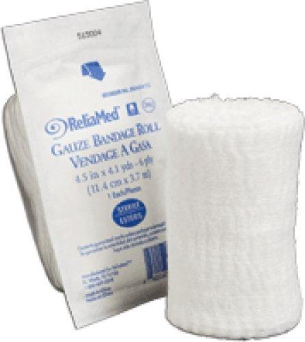 (ReliaMed Sterile Gauze Bandage Roll 4-1/2
