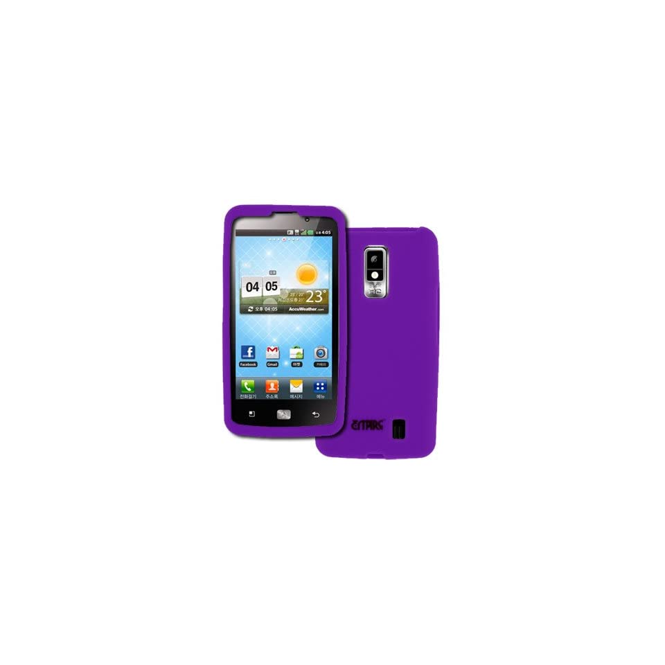 EMPIRE Verizon LG Spectrum Hot Pink Silicone Skin Case Cover [EMPIRE Packaging]