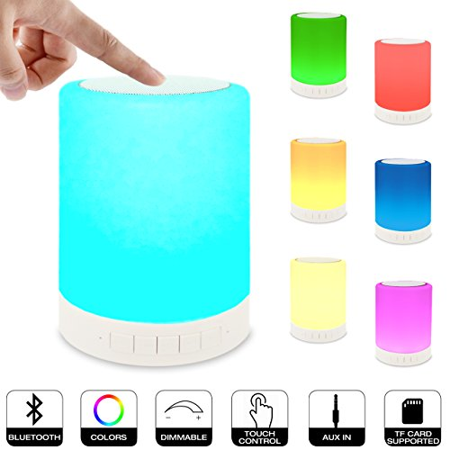 Night Light Bedside Lamp Portable