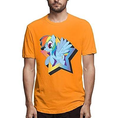 LightCa Aquarius My Little Pony Rainbow Dash Magnet T Shirt for Adult