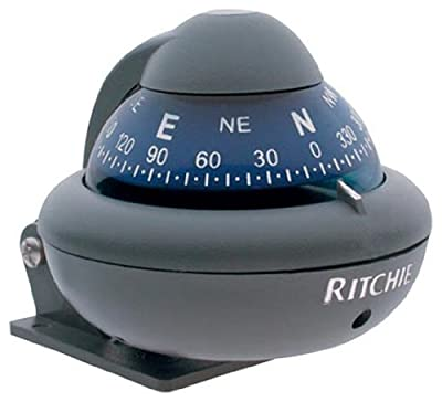X-10M Ritchie Navigation 2-Inch Dial Sport Compass (Gray)
