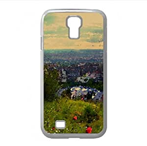 Hillside Italy Watercolor style Cover Samsung Galaxy S4 I9500 Case (Italy Watercolor style Cover Samsung Galaxy S4 I9500 Case)