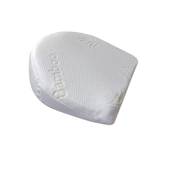 The White Willow Baby Crib Half Wedge Pillow Used Under Mattress for Acid Reflux, Colic, Anti Vomiting Special High