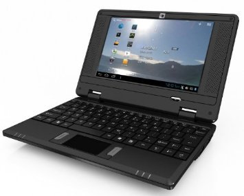 JCW Netbook – Ordenador portátil PC Ultraligera – Google Android 4.4 KitKat – WiFi – Ethernet