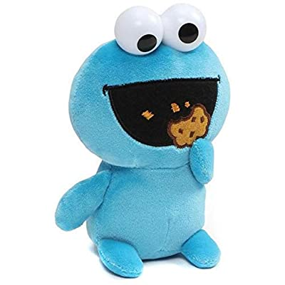 Cookie Monster Emoji Plush 6 Inch: Toys & Games [5Bkhe1100761]