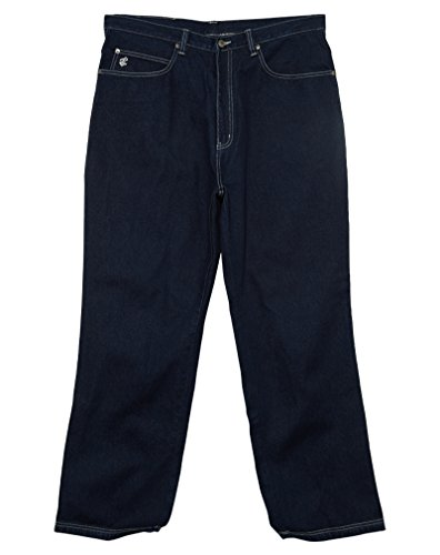 Roca Wear Loose Fit Back Logo Jeans Mens Style: RD703-INDIGO Size: L34W40 ()