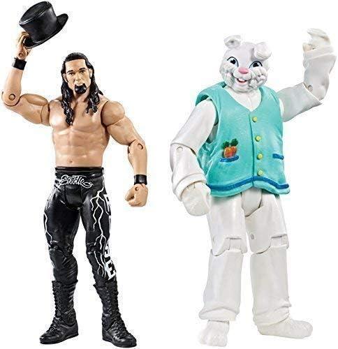 WWE Adam Rosa y el Conejito Nxt WWF Battle Pack Mattel Serie 38 Figura Lucha Libre: Amazon.es: Juguetes y juegos