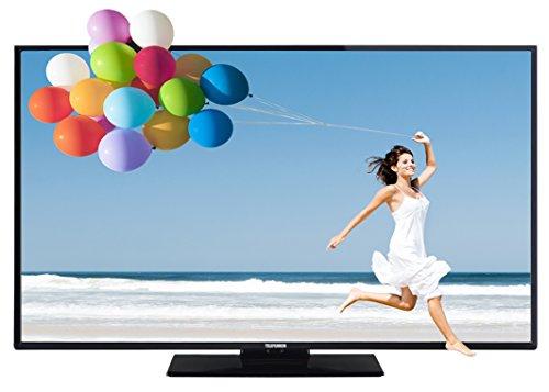 Telefunken L48F249X3CW-3D 122 cm (48 Zoll) Fernseher (Full HD, Triple Tuner, 3D, Smart TV)