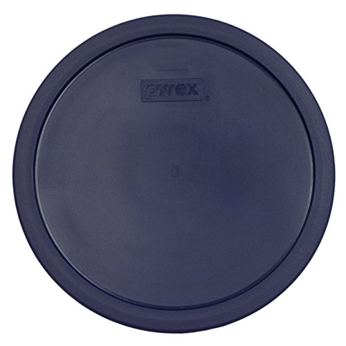 - Pyrex Blue Plastic Lid Fit 10 Cup Round Glass Dishes
