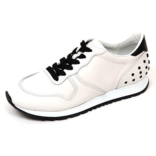 Donna Scarpa Nero Woman D0450 Sneaker Shoe Sportivo Nero Tod's Bianco Bianco EqwFHtwO