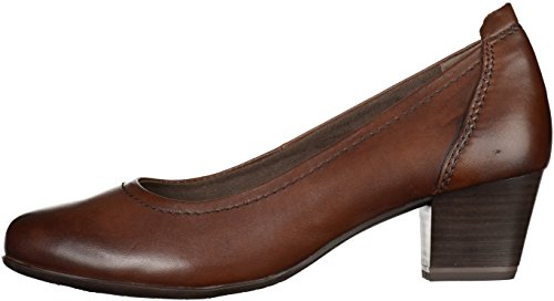 Strap 22306 Tamaris Women's Pumps Ankle Mocca qxt6RYwO
