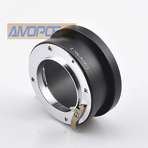 Exakta to M4//3 Lens Adapter Compatible with Exakta//Auto Topcon Lens to with Micro 4//3 MFT, M4//3 Such as for Olympus EP1,EP2,EP3,EPL1,EPL2,EPL3,EPL5,EPM1 Mount Camera