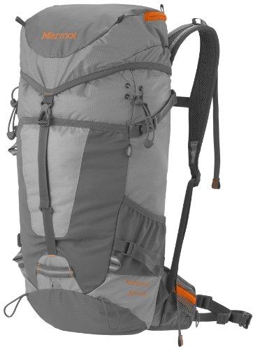 Marmot Kompressor Summit Pack, Grey, Bags Central