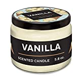Prank Candles Good-to-Bad Scented Candle, Vanilla to Dirty Fart, 5.8oz, A Stinky Candle is The Perfect Gag Gift and Practical Joke.