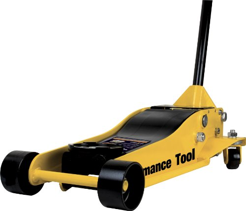 Performance Tool W1627 3.5 Ton (7,000 lbs.) Capacity Low Profile Service Jack