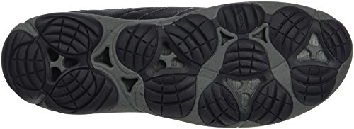 Geox Nebulosa Abx Mens Läder Vattentät Boots Svart