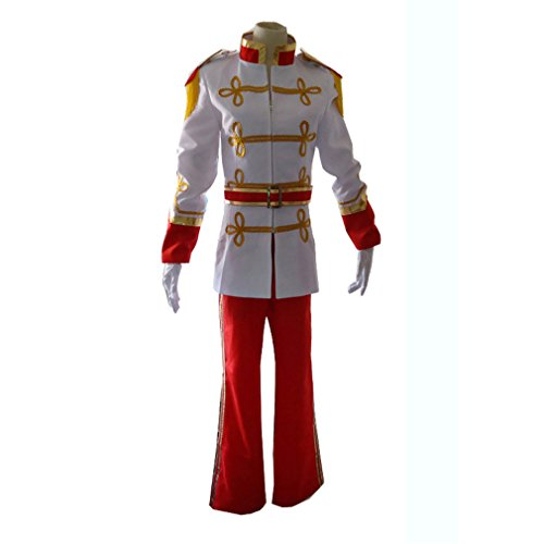 Cinderella's Charming Prince Costume (Cuterole Men Cinderella Prince Charming Costume Adult Halloween Suit Outfit)