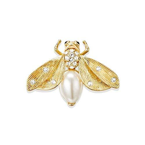 - JINGB Golden Firefly Brooch Jewellery