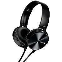 Sony MDR-XB450 Extra Bass Smartphone Heatset (Black)