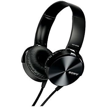 Amazon.com  Sony MDRXB450AP Extra Bass Smartphone Headset (Black ... adce7b5ea2