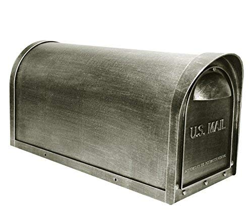 Special Lite Products SCC-1008-SW Classic Curbside Mailbox, Swedish Silver