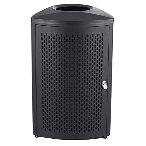 (Safco Products 9960BL Nook Indoor Trash Can, 20-Gallon, Black)