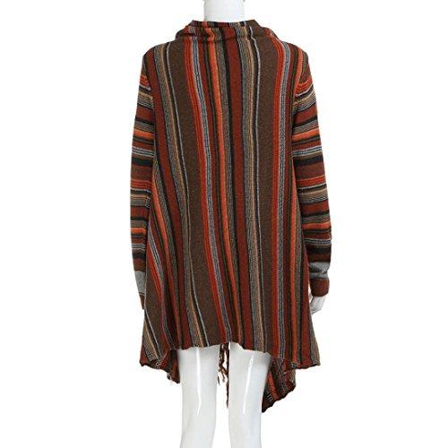 Capucha Abrigo De Con Outwear QinMM OtoñO De Mujer Cremallera SóLida Multicolor Invierno Parka Invierno Chaqueta SWZqAnBww