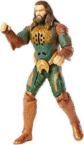 Mattel DC Justice League Talking Heroes Aquaman Figure, - Justice Aquaman League